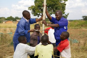 Well repair at Mkuwira village Malawi