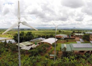 The Child Legacy Site in rural Malawi is powered 100% by wind and solar energy.